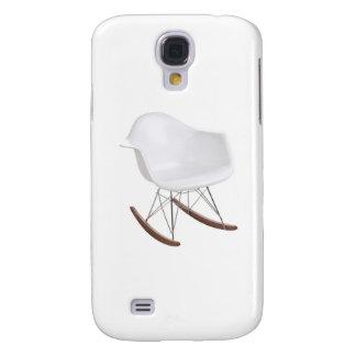Charles y mecedora de Eames Shell Eiffel del rayo Funda Para Galaxy S4