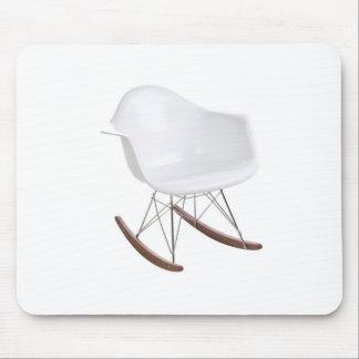 Charles y mecedora de Eames Shell Eiffel del rayo Tapete De Ratón