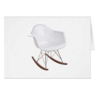 Charles y mecedora de Eames Shell Eiffel del rayo Tarjeta De Felicitación