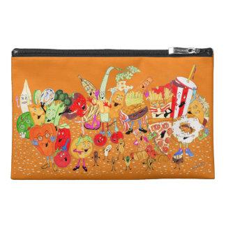 """Charlespals 9""""x6"""" Orange Pencil Case"""