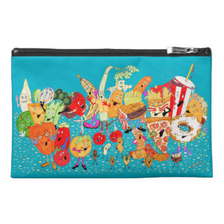 """Charlespals 9""""x6"""" Turquoise Pencil Case"""