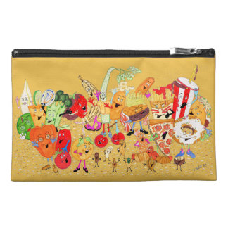 """Charlespals 9""""x6"""" Yellow Pencil Case"""