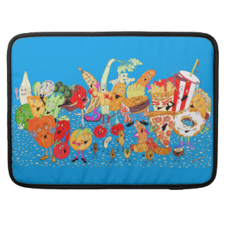 "'Charlespals' Royal Blu Macbook Pro 15"" Sleeve"