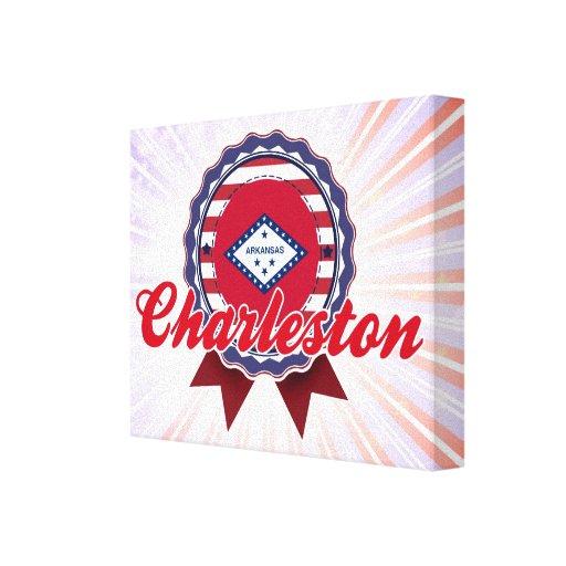 Charleston, AR Impresión En Lienzo Estirada