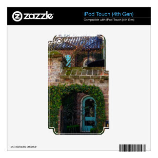 Charleston Architecture - Ivy & Iron iPod Touch 4G Skins