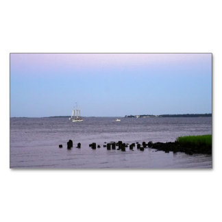 Charleston Bay Business Card Magnet