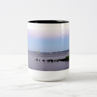 Charleston Bay Two-Tone Coffee Mug