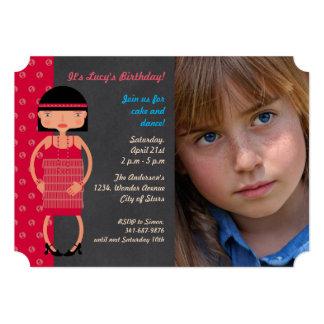 Charleston Chic  Birthday Party photo invitation