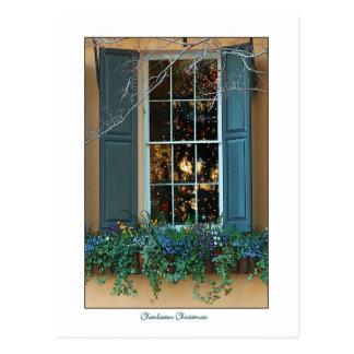Charleston Christmas Postcard