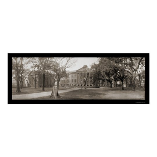 Charleston College SC Photo 1909 Poster