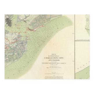 Charleston defenses, Belmont battlefield Postcard