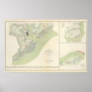 Charleston defenses, Belmont battlefield Poster