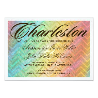 CHARLESTON Destination Invitation