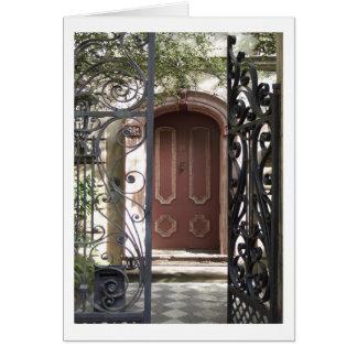 Charleston Door Card