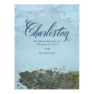 Charleston el libro - arte de la cubierta tarjetas postales
