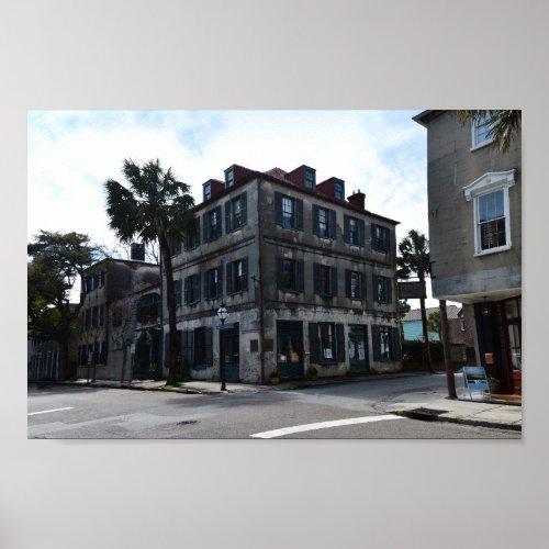 Charleston French Quarter ARt Gallery Poster