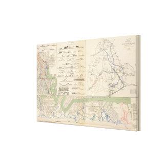 Charleston Harbor, Army of the Potomac operations Canvas Print