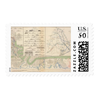 Charleston Harbor, Army of the Potomac operations Postage