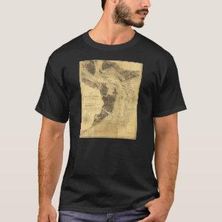 Charleston Harbor Civil War Map Sept. 7, 1863 T-Shirt