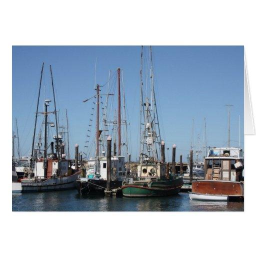Charleston Harbor, Oregon Card