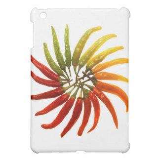 Charleston Hot Peppers Color Wheel iPad Mini Covers