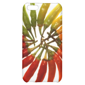 Charleston Hot Peppers Color Wheel iPhone 5C Case