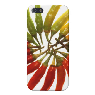 Charleston Hot Peppers Color Wheel Cases For iPhone 5