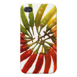 Charleston Hot Peppers Color Wheel iPhone 4/4S Case