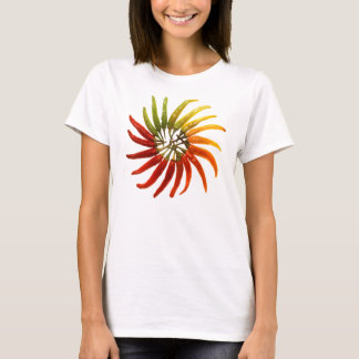 Charleston Hot Peppers Color Wheel T-Shirt