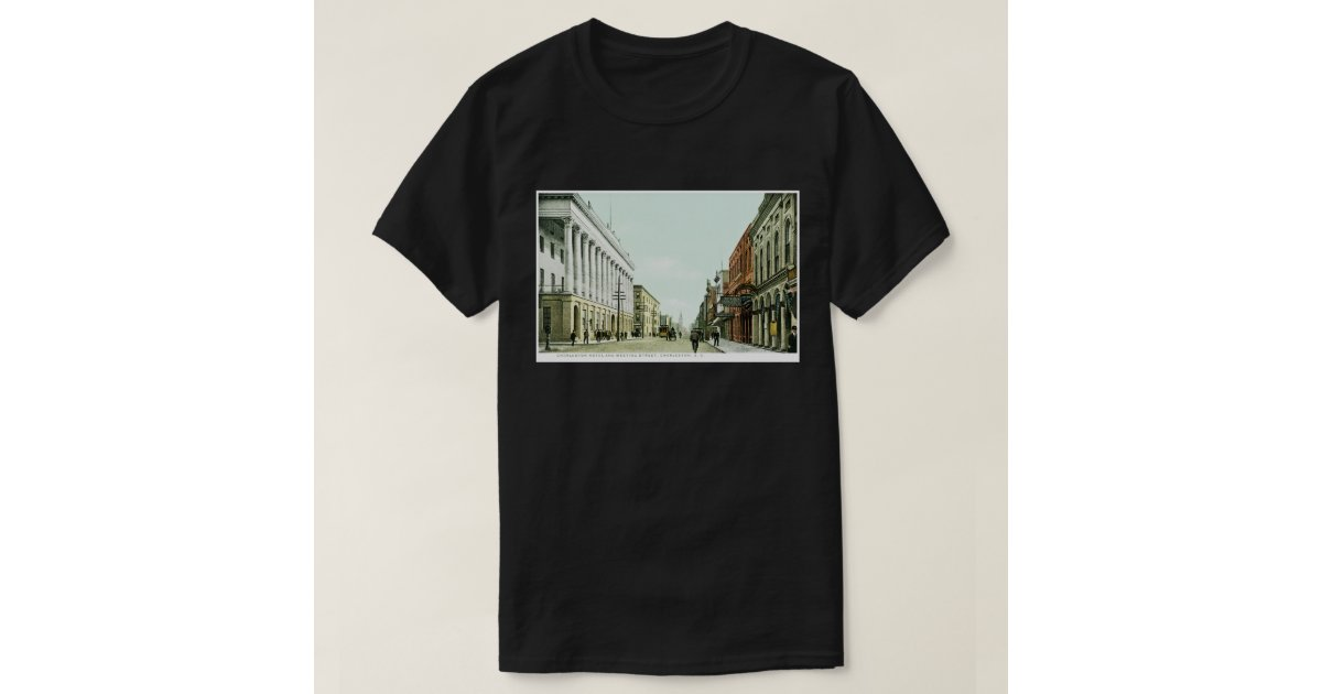 Charleston hotel and meeting street charleston sc tshirts for T shirt printing charleston sc