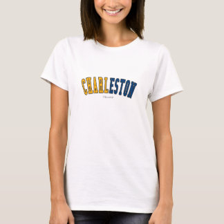 Charleston in West Virginia state flag colors T-Shirt