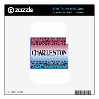 Charleston Iron Scroll Decal For iPod Touch 4G