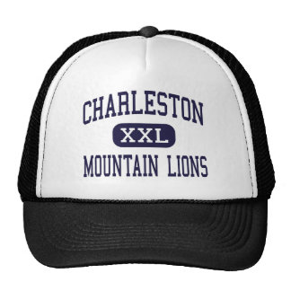 Charleston - leones de montaña - alta - Charleston Gorras De Camionero