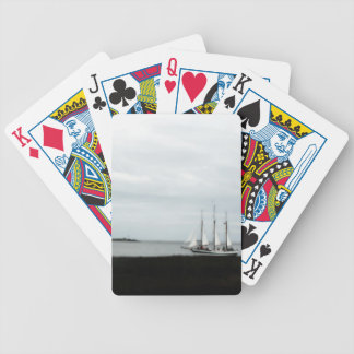 Charleston Lowcountry Schooner! Bicycle Playing Cards