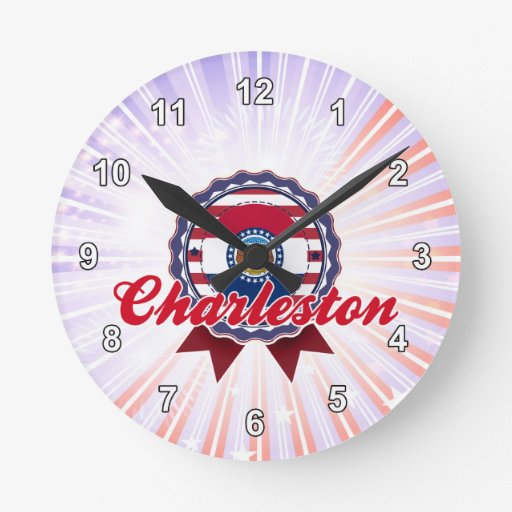 Charleston, MES Reloj Redondo Mediano