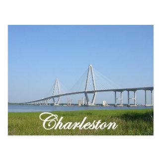Charleston Ravenel Bridge Postcard