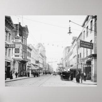 Charleston, SC, 1910 Poster
