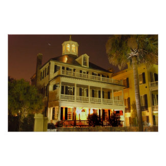 Charleston SC battery house Poster
