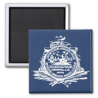 Charleston, SC Flag Magnet