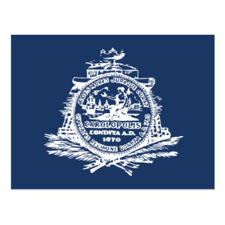 Charleston SC Flag Postcard