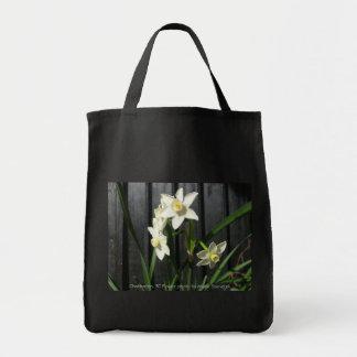 Charleston, SC Flower Tote Bag