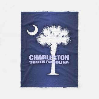 Charleston SC (Palmetto & Crescent) Fleece Blanket
