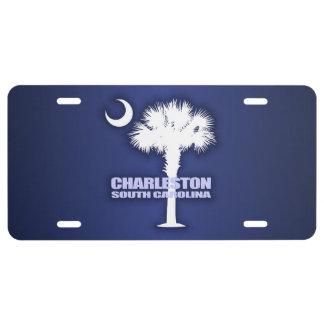 Charleston SC (Palmetto & Crescent) License Plate
