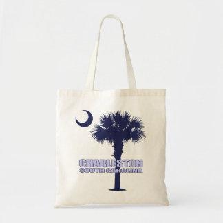 Charleston SC (Palmetto & Crescent) Tote Bag