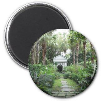 Charleston SC Palmettos Garden & Gazebo Magnet