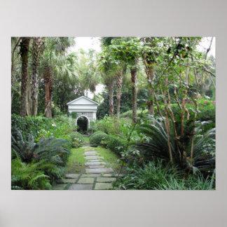 Charleston SC Palmettos Garden & Gazebo Poster