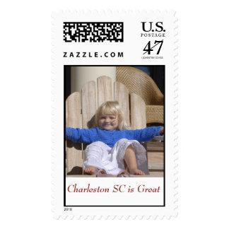 Charleston SC Postage Stamp