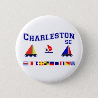 Charleston SC Signal Flags Button