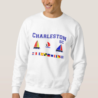 Charleston SC Signal Flags Sweatshirt