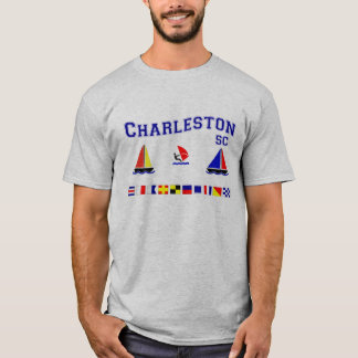 Charleston SC Signal Flags T-Shirt